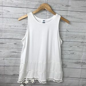 Old Navy Pom Top