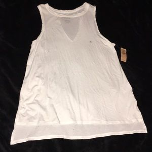 American Eagle key hole tank top