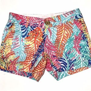Lilly Pulitzer Callahan Shorts Electric Feel