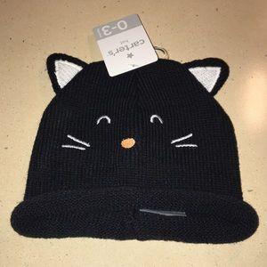 Carters Halloween cat hat