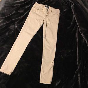 Super stretch low rise skinny jeans