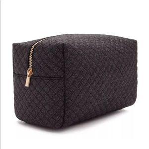 Glitter Black Makeup Bag high-polish cosmetic bag
