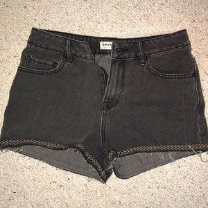 Bullhead denim high rise shorts