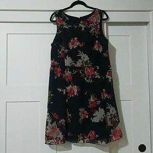 Flower dress from the LOFT