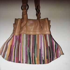 Beautiful all leather bag. Different colors