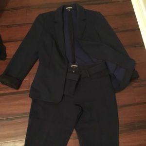 Express Pantsuit *NEW* Columnist Pants Blazer Set