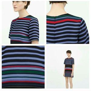 Zara Striped Dress Sz S
