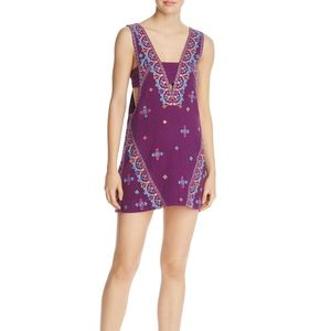 NWT Free People Never Been Embroidered Dress Large