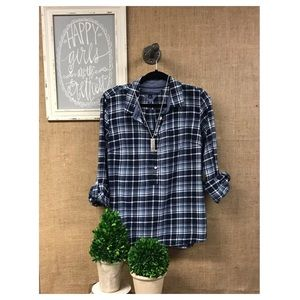 Tommy Hilfiger plaid button down