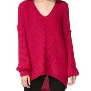 Free people oversized knitted sweater. NWT