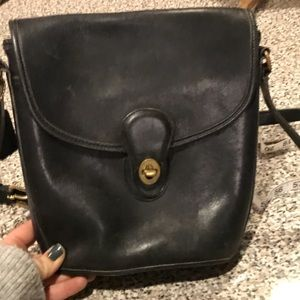 Rare Vintage Coach crossbody flap bag