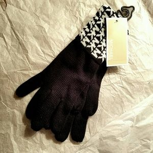 BEST🎁! Black MICHAEL KORS gloves🎄🎁 NEW WITH TAG