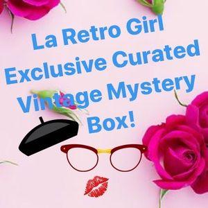 Vintage RARE Mystery Box