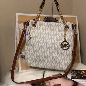 Brand New Michael Kors Convertible Satchel