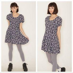 90s babydoll mini dress