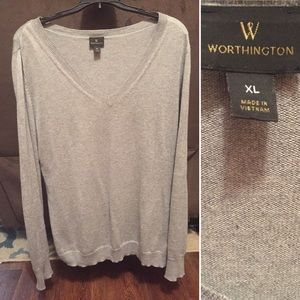 Worthington V-neck sweater