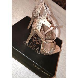 Jeweled Vince Camuto heels