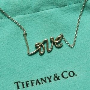 Tiffany & Co Love Necklace