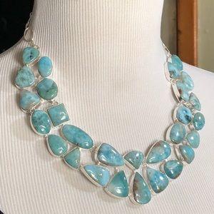 NEW! Larimar necklace
