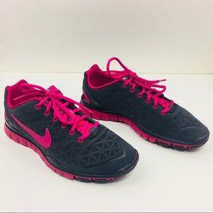 Nike Free 5 Women Sz 9.5 Running Gtay Lightweight