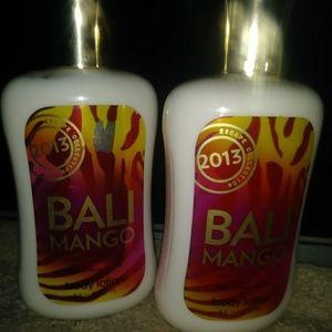 New bath & body works lotions