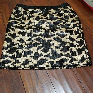 BCBG Paris Lepord skirt
