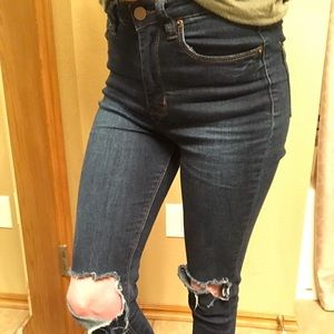 Forever 21 High-Waisted Jeans