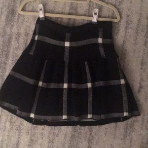Alice & Olivia Plaid Skirt