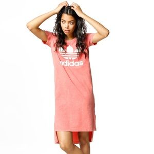 Adidas fashion dress tactile pink