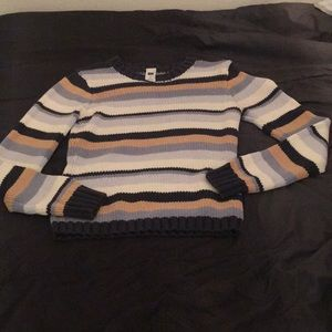 GAP Striped holiday Sweater