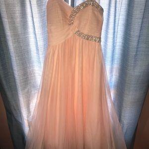Blonde Nites Prom Dress