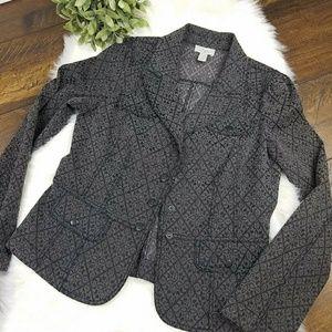 Ann Taylor Loft Tailored Jacket Blazer sz 8