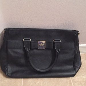 Black stylish kate spade purse