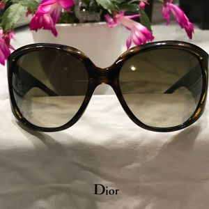 Dior crystal embellished sunglasses