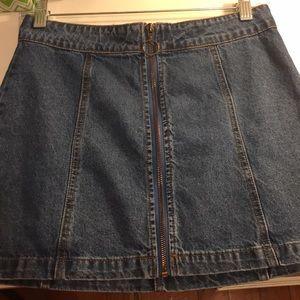 Forever 21 Blue Jean Skirt