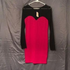 Pink forever 21 dress. Size m