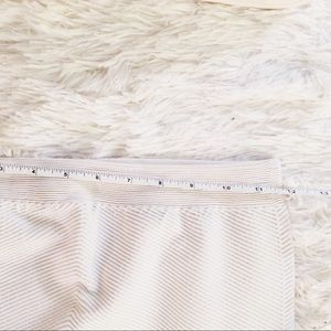 Marciano ribbed white Stretch Pencil Skirt M/L