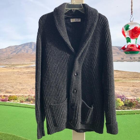 ee9e56eb6cc69e Pringle of Scotland Wool Sweater Jacket Size L. M_5a2e1f233c6f9f4ffd02e71f