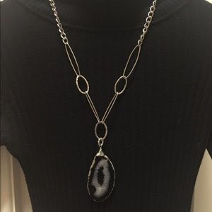 Jewelry - Agate Necklace. Adjustable to any length.