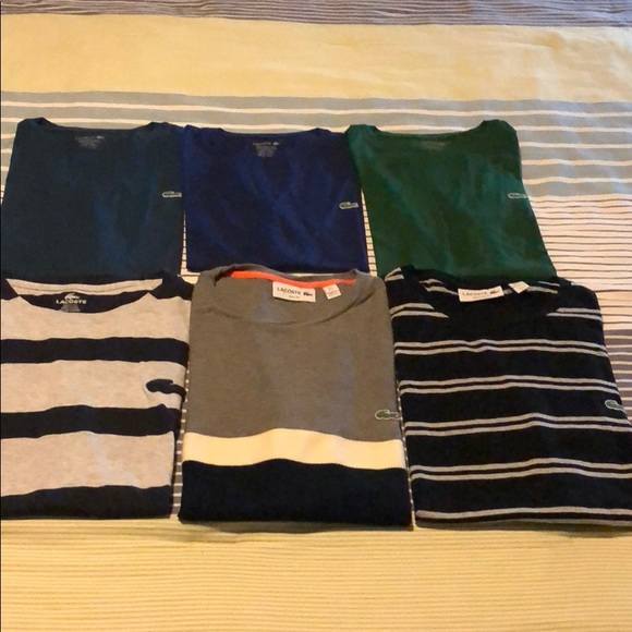 Lacoste Other - Lacoste Size 5 T-Shirts