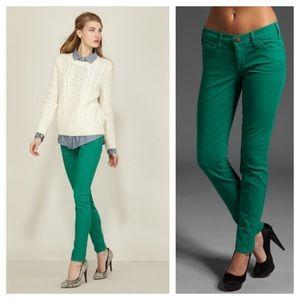 🎄Christmas pants!🎄Current/Elliott Green Jeans