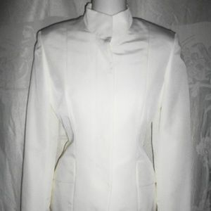 GUCCI White Nylon Taffeta Jacket 38 2 $1K