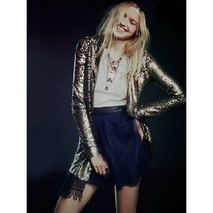Free People 'Tarnished Sequin Stardust Jacket'