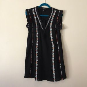 Jessica Simpson Cotton Tribal Dress Size Small