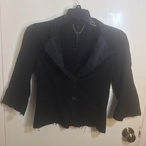 Poleci 3/4 Sleeve Blazer