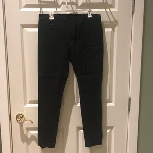 Club Monaco slim black Moto trousers