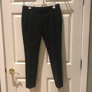 H&M black stretch ankle length trouser