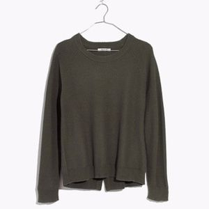 NWT Madewell Province Cross-back sweater