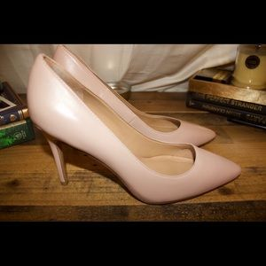 Banana republic pumps pastel pink
