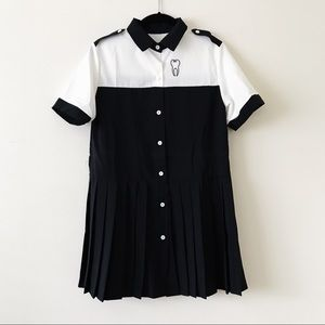 Tooth Embroidered Shift Dress